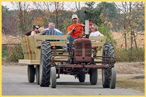 Fall Fun Hay Ride