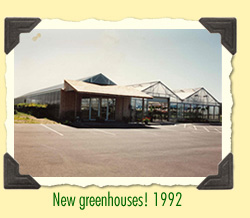 New greenhouses!