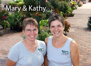 Mary Joyer and Kathy Waldoch