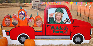 Waldoch Farm Photo op truck